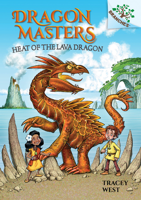 Heat of the Lava Dragon: A Branches Book (Dragon Masters #18) (Library Edition) Cover Image