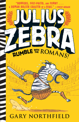 Julius Zebra: Rumble with the Romans! Cover Image