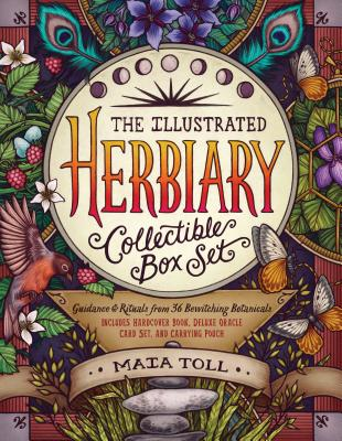 The Illustrated Herbiary Collectible Box Set: Guidance and Rituals from 36 Bewitching Botanicals; Includes Hardcover Book, Deluxe Oracle Card Set, and Carrying Pouch (Wild Wisdom) Cover Image