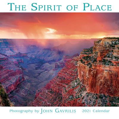 2021 the Spirit of Place Mini Calendar Cover Image