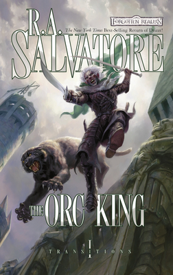 Cover for The Orc King (The Legend of Drizzt #20)