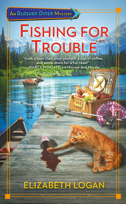 Fishing for Trouble (An Alaskan Diner Mystery #2) Cover Image