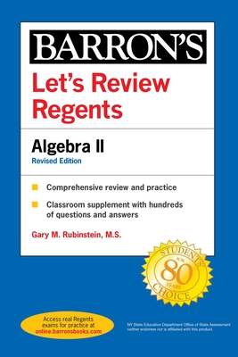 Let's Review Regents: Algebra II Revised Edition (Barron's Regents NY) Cover Image