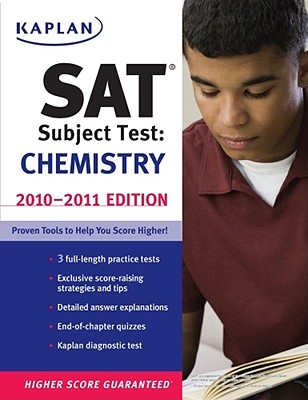 Kaplan SAT Subject Test Chemistry 2010 2011 Edition