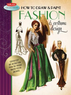 How to Draw & Paint Fashion & Costume Design Cover