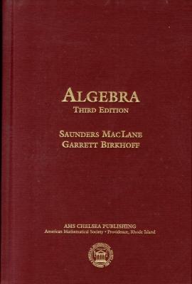 Algebra Cover Image