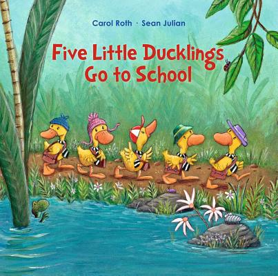 Five Little Ducklings Go To School Cover Image