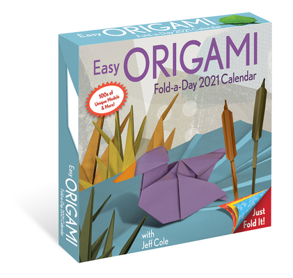 Easy Origami 2021 Fold-A-Day Calendar Cover Image