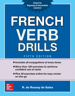French Verb Drills, Fifth Edition Cover Image