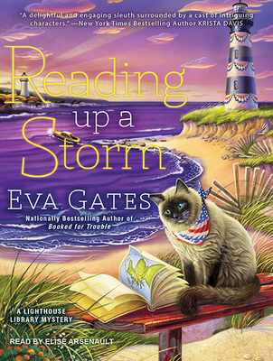 Reading Up a Storm (Lighthouse Library Mystery #3) Cover Image