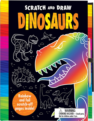 Scratch and Draw Dinosaurs Cover Image