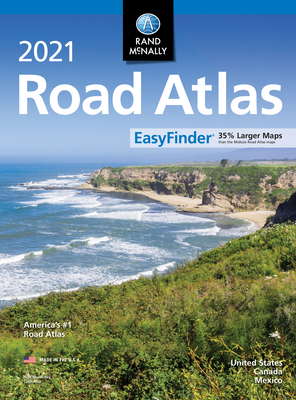Rand McNally 2021 Easyfinder Midsize Road Atlas Cover Image
