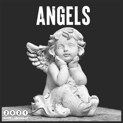 Angels 2021 calendar: Celestial Cherubs 18 Months Wall Calendar 2021 Angels Cover Image