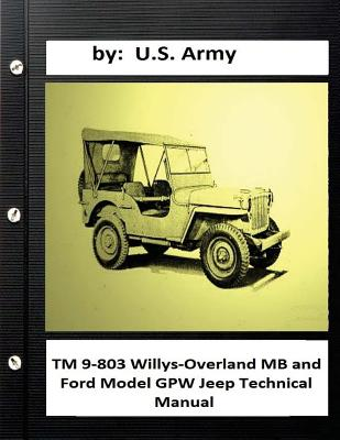 TM 9-803 Willys-Overland MB and Ford Model GPW Jeep Technical Manual Cover Image