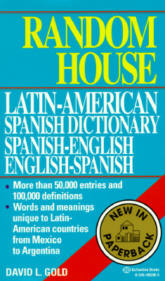 Random House Latin-American Spanish Dictionary Cover