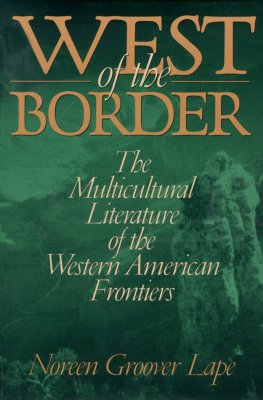 Cover for West of the Border