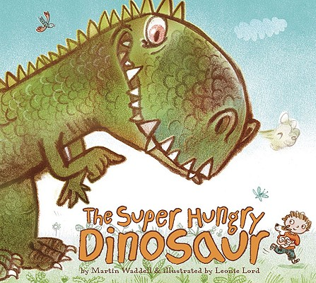 The Super Hungry Dinosaur Cover