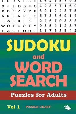 Sudoku and Word Search Puzzles for Adults Vol 1 Cover Image