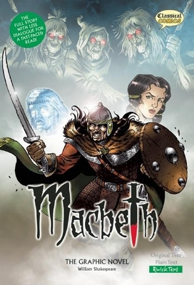 Macbeth the Graphic Novel: Quick Text (Classical Comics) Cover Image