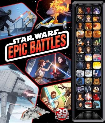 Star Wars: 39-Button Sound: Epic Battles (39-Button Sound Books) Cover Image