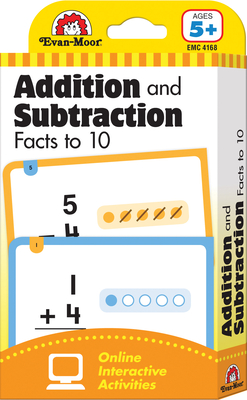 Flashcards: Beginning Addition and Subtraction Facts to 10 (Flashcards: Math) Cover Image