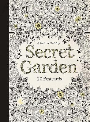 Secret Garden: 20 Postcards Cover Image