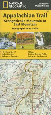 Appalachian Trail, Schaghticoke Mountain to East Mountain [Connecticut, Massachusetts] Cover Image