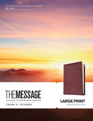 Message Bible-MS-Large Print Numbered Cover Image