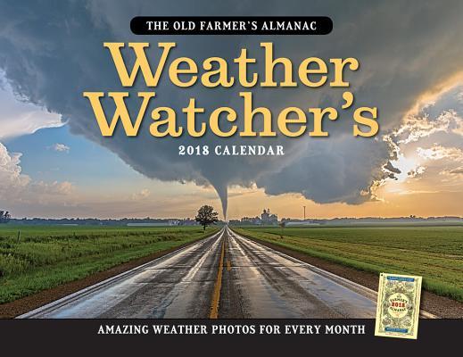 The Old Farmer's Almanac 2018 Weather Watcher's Calendar cover
