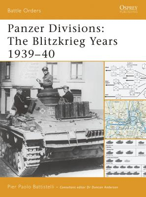 Panzer Divisions: The Blitzkrieg Years 1939-40 Cover Image
