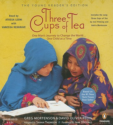 Three Cups of Tea: Young Readers Edition: Young Reader's Edition Cover Image