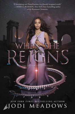 When She Reigns (Fallen Isles #3) Cover Image