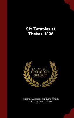 Six Temples at Thebes. 1896 Cover Image