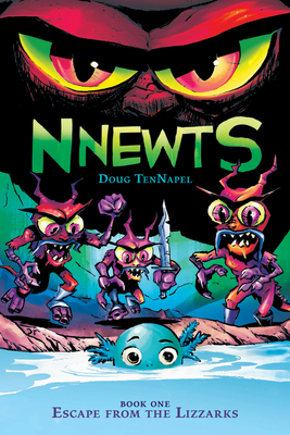 Escape From the Lizzarks (Nnewts #1) Cover Image