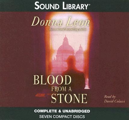 Blood from a Stone (Commissario Guido Brunetti Mysteries (Audio)) Cover Image