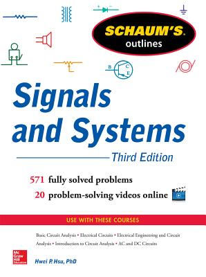 Schaum's Outline of Signals and Systems (Schaum's Outlines) Cover Image