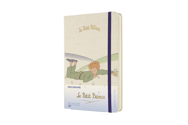 Moleskine 2021 Petit Prince Daily Planner, 12M, Large, Landscape, Hard Cover (5 x 8.25) Cover Image