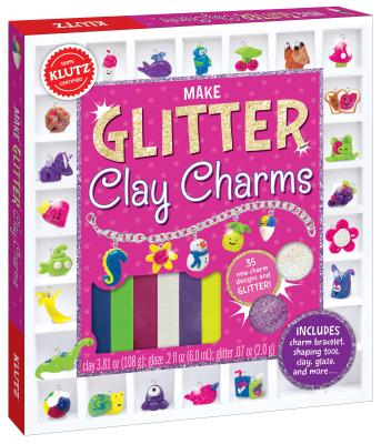 Make Glitter Clay Charms Cover Image