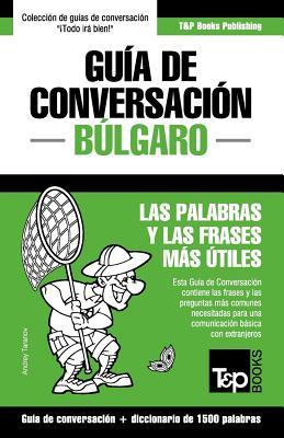 Guía de Conversación Español-Búlgaro y diccionario conciso de 1500 palabras Cover Image