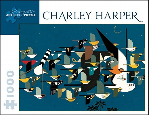 Puzzle-Charley Harper Myst of (Pomegranate Artpiece Puzzle) Cover Image