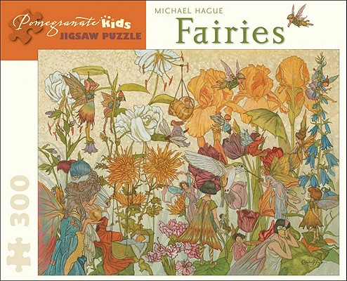 Fairies 300 Piece Jigsaw Puzzle (Pomegranate Kids Jigsaw Puzzle) Cover Image