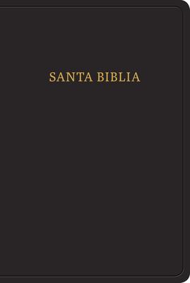 Cover for RVR 1960 Biblia letra grande tamaño manual, negro imitación piel