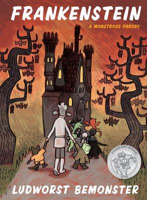 Frankenstein: A Monstrous Parody cover