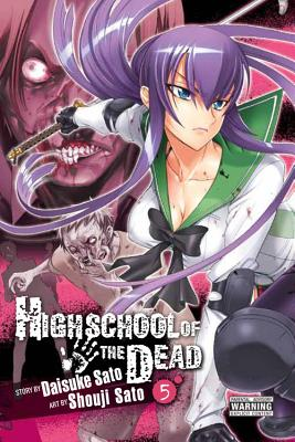 Highschool of the Dead, Vol. 5 Cover