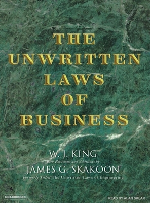 The Unwritten Laws of Business Cover Image