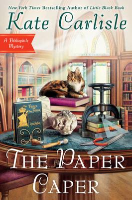 The Paper Caper (Bibliophile Mystery #16) Cover Image