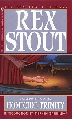 Homicide Trinity (Nero Wolfe #36) Cover Image