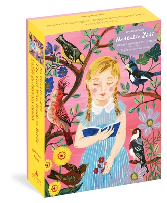 Nathalie Lété: The Girl Who Reads to Birds 500-Piece Puzzle (Artisan Puzzle) Cover Image