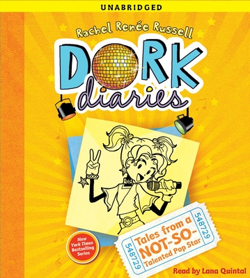 Dork Diaries 3: Tales from a Not-So-Talented Pop Star Cover Image