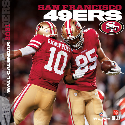 San Francisco 49ers 2021 12x12 Team Wall Calendar Cover Image